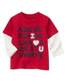 Looks like a great V-day shirt for my son!