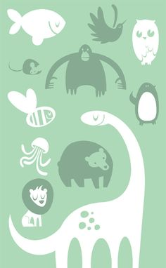 Animals by Juan F. Leguizamon, via Behance