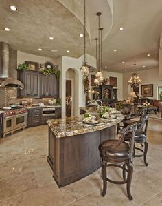 Kitchen furnishings, decor & lighting #modernTuscandecor