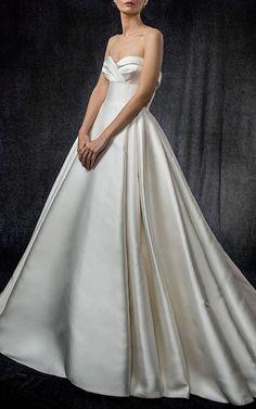 Elizabeth Kennedy Bridal Draped Bodice Gown at Moda Operandi (affiliate link)
