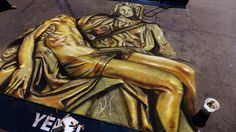 Chalk Art - Little Italy Festa 2013 ~ San Diego, CA