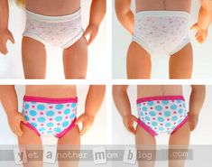Our Generation doll panties