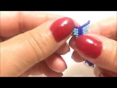 KATLANAN MUSKA KOLYE YAPIMI - YouTube Seed Bead Tutorials, Jewelry Making Tutorials, Beading Tutorials, Seed Bead Flowers, Beaded Flowers, Seed Beads, Beading Techniques, Diy Schmuck, Necklaces