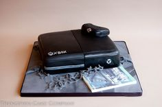 This one is a gamer's dream cake. A sponge Xbox One cake with controller and game, everything is edible and this one doesn't use as much electricity!