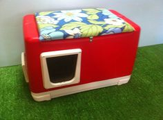 Cat Pod Outdoor Cat House shelter bed condo sanctuary by stabob on Etsy