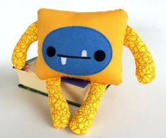 Monster Softie  Stuffed Toy  Plush Monster  by FeltForceFive https://www.etsy.com/au/shop/FeltForceFive