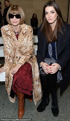 U.S. VOGUE editor Anna, 66, and her daughterBee Shaffer, 28