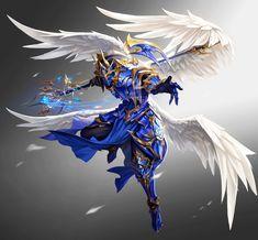 Fantasy Races, Fantasy Armor, Fantasy Weapons, Dark Fantasy Art, Fantasy Character Design, Character Concept, Character Art, Epic Characters, Fantasy Characters