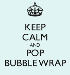 Bubble Wrap 1mx1m - Send to a friend via Shipyourfriendsbubblewrap.com - seriously!. Click on the image to see more!