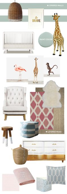 bay room #nursery I'm getting obsessed with #flamingos