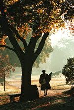 Colonial Williamsburg - an autumn walk
