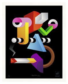 beautiful work by leipzig based artists, doppeldenk