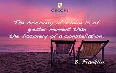sunset wine quote