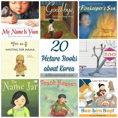 20 Picture Books About Korea