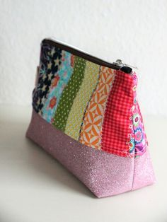 Best Totally Free Crochet for kids scrap Style Mit Stofresten nähen Sewing Hacks, Sewing Tutorials, Sewing Crafts, Sewing Tips, Sewing Ideas, Fabric Remnants, Fabric Scraps, Kids Purse, Leftover Fabric