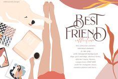 BilberryCreate Best Friend Clipart Collection