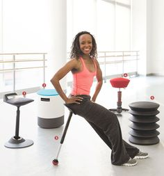 BALANCING ACT   Renee Robinson, a former member of Alvin Ailey American Dance Theater, sits...