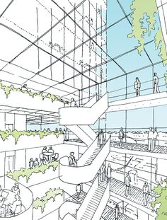 Winner of Parramatta Square Design Competition Announced,Courtesy of Parramatta City Council