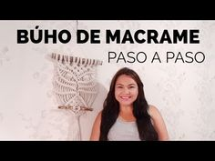 How to make macrame owl wall hanging step-by-step DIY tutorial - part of 2 - Free Online Videos Best Movies TV shows - Faceclips Macrame Owl, Macrame Knots, Micro Macrame, Macrame Bracelets, Macrame Tutorial, Diy Tutorial, Macrame Hanging Planter, Macrame Curtain, Macrame Projects