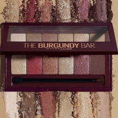 Maybelline The Burgundy Bar Palette 2017