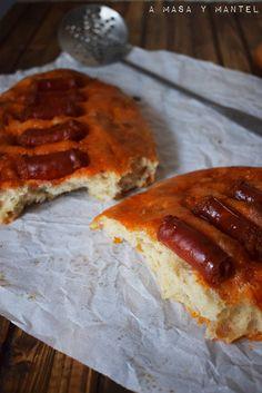 Día del Chorizo: Torta de aceite con chistorra – A masa y mantel