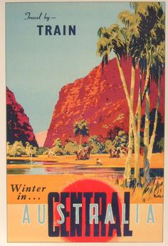 I hope you're enjoying a nice break and doing all the tradition Aussie things. These are some vintage Australian travel posters, all by Jam. Train Posters, Railway Posters, Happy Australia Day, Australia Travel, Vintage Advertisements, Vintage Ads, Posters Australia, Australian Vintage, Tourism Poster