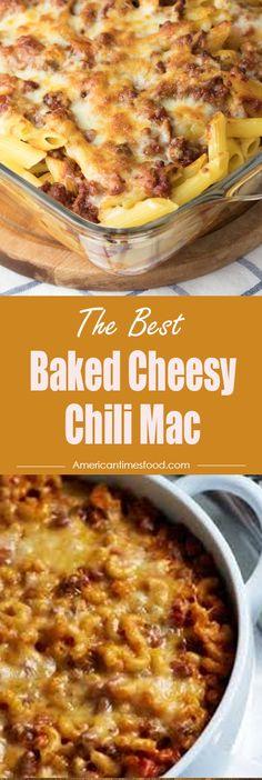 Baked Cheesy Chili Mac – I Cook I Eat