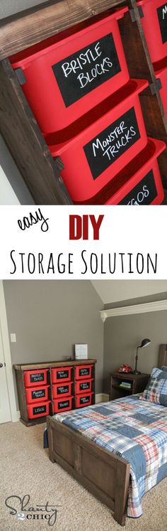 Simple DIY Storage Solution