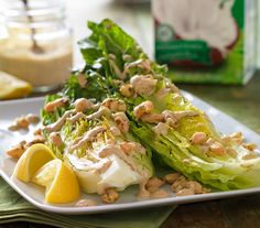 Garlicky Grilled Caesar Salad-So Delicious Dairy Free | Coconut, Almond & Soy Milk Dairy-Free Recipes