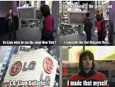 Indie Music, New Music, Oasis, Liam And Noel, Liam Gallagher, Britpop, Music Memes, Best Rock, I Care