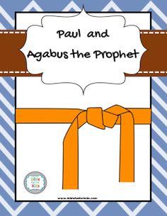 Paul Agabus The ApostleBible For KidsSunday School LessonsBible