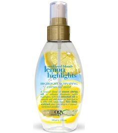 Organix Lemon Highlights Citrus Oil Mist 118 ml - Saç Bakım Yağı Sarı Saçlar İçin Renk Belirginleştirici Limon Özlü Saç Bakım Yağı  Limon ve turuçgil özlerinden oluşan eşşiz saç bakım yağı ile saçlarınıza güneş ışıltısını kazandırın.