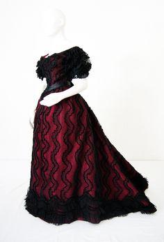 Reception dress c. 1895