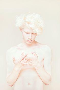 Cream by Igor Klepnev, via Behance #albino #albinism