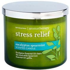Bath & Body Works Eucalyptus Spearmint vonná svíčka