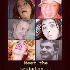 Hahahaha.... Well, this year's Hunger games sure is going to be entertaining, but all of these guys are screwed