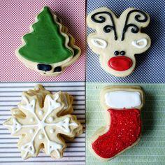 The Crafting Chicks Christmas Sugar Cookies