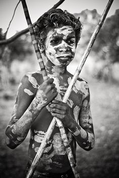 🖤 By Ludovic Ismael Aboriginal History, Aboriginal Culture, Aboriginal People, Aboriginal Art, Aboriginal Children, We Are The World, People Of The World, Borneo, Australian Aboriginals