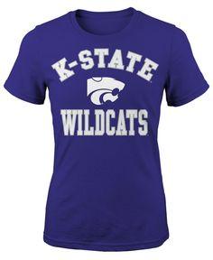 Outerstuff Girls' Kansas State Wildcats University Stack T-Shirt