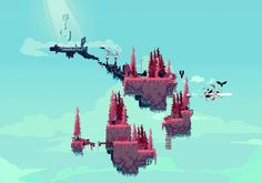 bevisart: Saw this awesome game called Path to the Sky, was fun playing around with the concept. ^_^ Their twitter ishttps://twitter.com/dekdev BADONKERS
