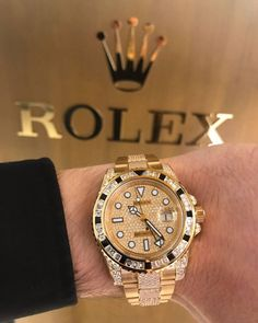 Mens Watches – Break Out From Boring Cheap Watches For Men, Luxury Watches For Men, Dream Watches, Sport Watches, Rolex Gmt Master 2, Gold Rolex, Watch Brands, Fashion Watches, Gold Watch