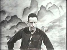 Alan Watts Introduces America to Meditation & Eastern Philosophy: Watch the 1960 TV Show, Eastern Wisdom and Modern Life | Open Culture