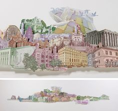 3D Currency Collages Made From a World of Money