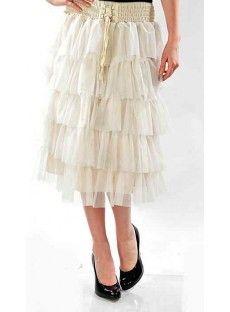 Ruffle Tiered Skirt by Apostolic Clothing