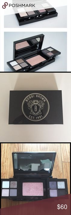 Bobbi Brown Caviar and Oyster Eyeshadow Palette Absolutely amazing eyeshadow palette by Bobbi Brown! Has not been used and this is a collector's edition! No longer available for purchase online! Perfection! ❣️❣️❣️ Bobbi Brown Makeup Eyeshadow