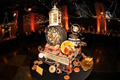 FABULOUS STEAMPUNK WEDDING CAKES | Steampunk cake by Elegant Bakery in Denver Photography by Nichole ...