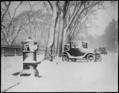 > Snowstorm. 1920   My grandparents would have been young adults, when the world looked like this