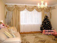 шторы в Геленджике от дизайн-ателье АКЦЕНТ