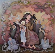 Gallery 2 - Sonja Lehto, naivistisia maalauksia,osattomien madonna