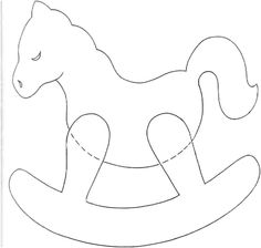 free images to make wood horses | Wooden and Plywood Toy Plans, Free Fret Saw Patterns, and Funny ...